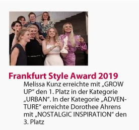 Fahmoda Gewinnerinnen des Frankfurt Style Award 2019